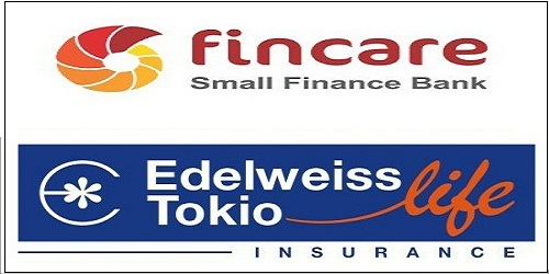 Edelweiss Tokio Life Insurance tie up with Fincare Small Finance Bank for bancassurance