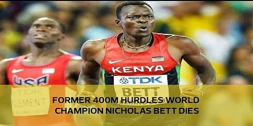 Ex-400m world champion Nicholas Bett dies