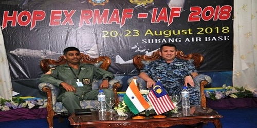 First-ever IAF-RMAF joint air exercise begins in Malaysia