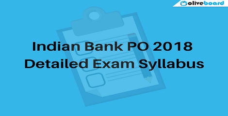 Indian-Bank-PO-2018-Exam-Syllabus