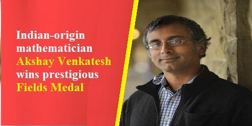 Indian-origin mathematician Akshay Venkatesh wins prestigious Fields Medal