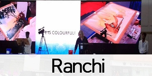 5 day International water colour festival held in Ranchi from 23rd-27th August: Jharkhand