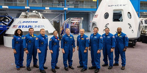 NASA names Sunita Williams, 8 others, for first space flights on commercial spacecraft