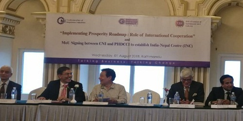 PHDCCI and CNI sign MoU to set up Indo-Nepal Centre