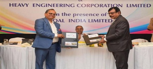 PSUs BEML and HEC sign pact to manufacture mining equipment