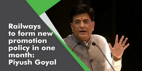 Piyush Goyal Approves a New Promotion Policy for Railway Sportspersons