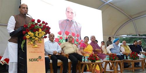 Rajnath Singh Inaugurates NDMC Smart City Projects