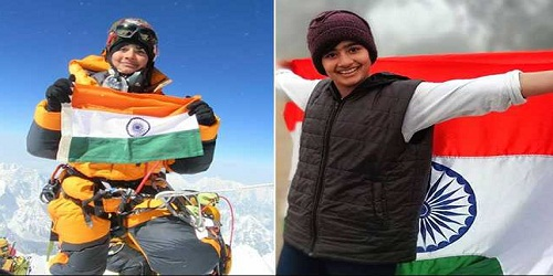 Shivangi Pathak from Haryana scales Mount Kilimanjaro