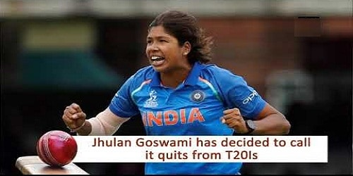 Veteran pacer Jhulan Goswami retires from T20Is