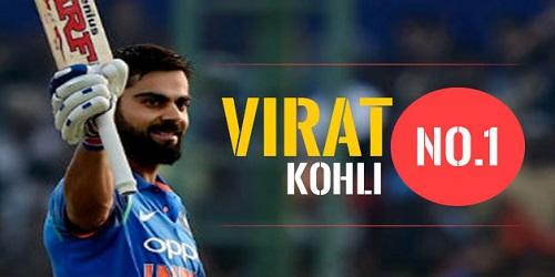 Virat Kohli's 22nd ton propels him to the top of ICC Test rankings for batsmen