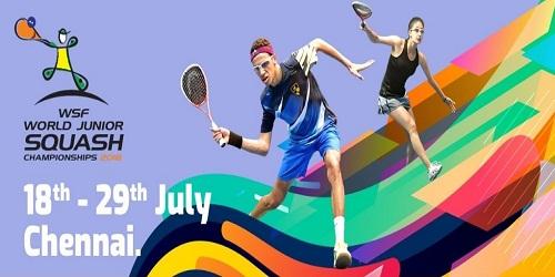 World Junior Squash Championships 2018 held in Chennai, India