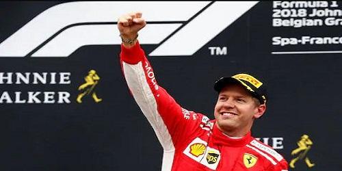 Sebastian Vettel Won Belgian Grand Prix 2018
