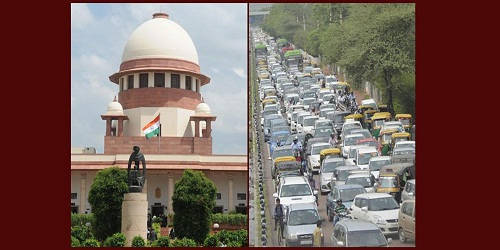 Supreme Court accepts Centre's proposal for use of coloured stickers to indicate nature of fuel