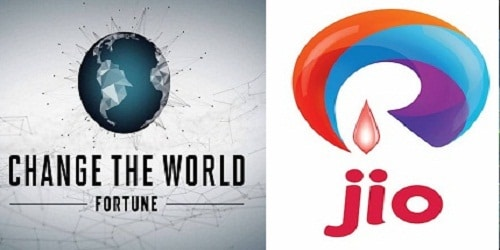 Fortune's 4th 'Change the World' list 2018 has been released; Reliance Jio tops the list