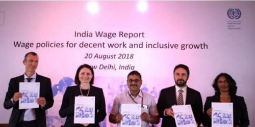 Strong wage policies needed to promote inclusive growth in India: as per 'India Wage Report: Wage policies for decent work and inclusive growth'