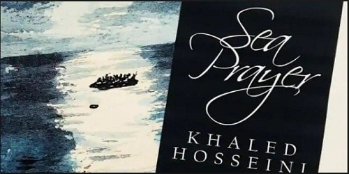 "Khaled Hosseini's new book ""Sea Prayer"" a tribute to Alan Kurdi"