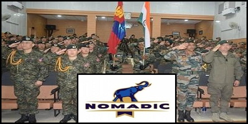 Nomadic Elephant 2018: 13thIndia, Mongolia joint exercise held in Ulaanbaatar, Mongolia