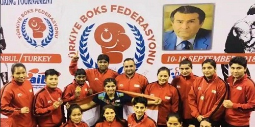 32ndAhmet Comert Boxing Tournament in Istanbul, Turkey