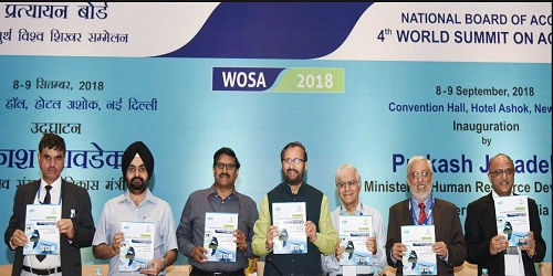 2-day 4thWorld Summit on Accreditation (WOSA-2018) inaugurated by HRD minister Shri Prakash Javadekar