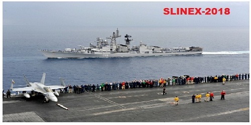 8th edition of joint exercise SLINEX-2018 in Sri Lanka