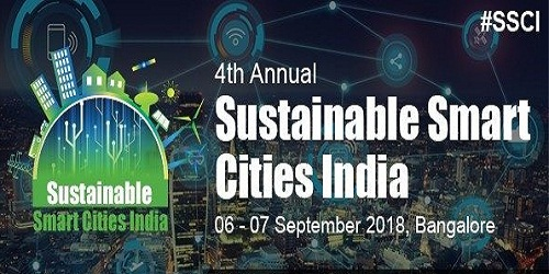 2-day 4th Annual Sustainable Smart Cities India Conference was held in Bengaluru
