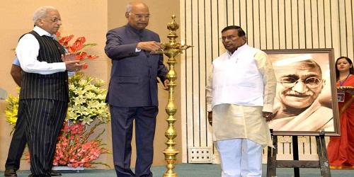 Centenary celebrations of Dakshina Bharat Hindi Prachar Sabha inaugurated by President