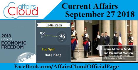 Current-Affairs-September-27-2018