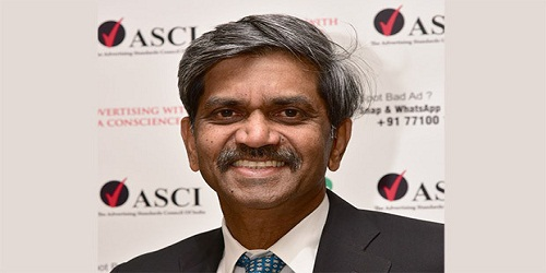 D Shivakumar elected as Advertising Standards Council of India (ASCI) Chairman