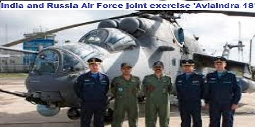 Exercise Aviaindra-18: Joint Air Force exercise of India and Russia commenced at Lipetsk