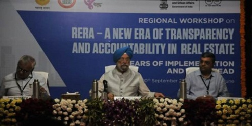 First Regional Workshop on RERA in Pune inaugurated by Shri Hardeep Puri