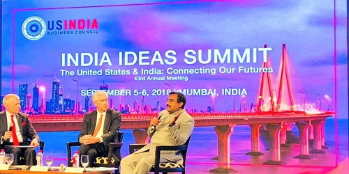 First 2-day India Idea Summit held in Mumbai by USIBC