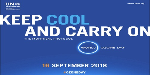 International Day for the Preservation of the Ozone Layer - 16 Sep