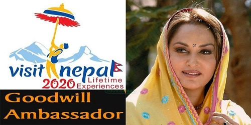 Jaya Prada appointed goodwill ambassador for Nepal tourism