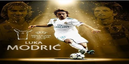 Luka Modric named UEFA Player of the Year 2018: UEFA Awards