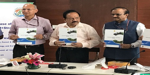 National Reducing Emission from Deforestation and Forest Degradation (REDD+) plus strategy launched by Dr Harsh Vardhan