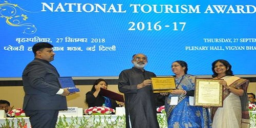 National Tourism Awards 2016-17: Ahmedabad and Mandu best heritage city, Qutub Minar best monument for differently-abled