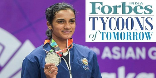 Olympian PV Sindhu only sportsperson in Forbes India's first 'tycoons of tomorrow' list