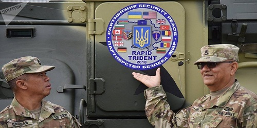 Rapid Trident: Joint military exercise among Ukraine, US and NATO nations in Ukraine