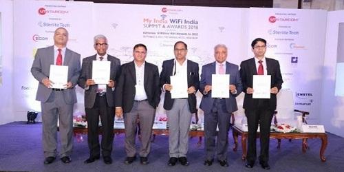 WiFi Leadership Awards 2018 announced inMy India WiFi India Summit & Awards 2018