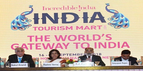 3-day First-ever global India Tourism Mart held in Vigyan Bhawan, New Delhi