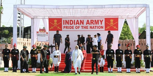 PM Modi Inaugurated 'Parakram Parv' in Jodhpur, to Attend Commanders' Meet