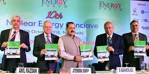 Dr Jitendra Singh inaugurates 10th Nuclear Energy Conclave in New Delhi