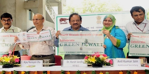 """Harit Diwali-Swasth Diwali"" campaign launched by Ministry of Environment"