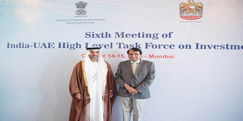 India to set up a special desk UAE PLUS to facilitate investments from UAE : 6thUAE-India High-Level Joint Task Force meeting
