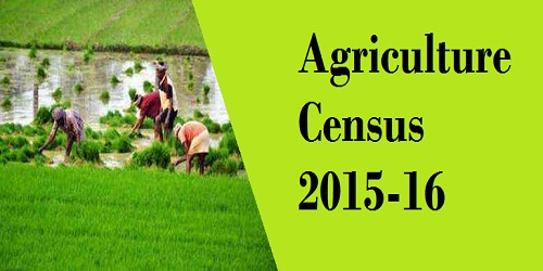 Agriculture Census data for 2015-16