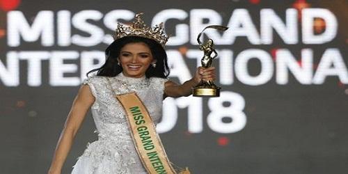 Clara Sosa won Miss Grand International 2018 in Yangon, MyanmarClara Sosa won Miss Grand International 2018 in Yangon, Myanmar