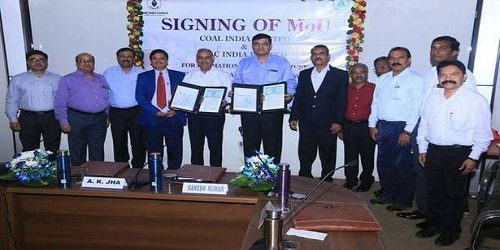 Coal India signs MoU with NLC for 5000 MW power generation through joint venture company