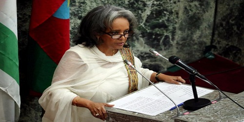 Ethiopia appointed its first female president