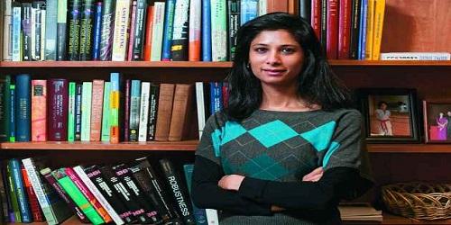 India-born Harvard professor Gita Gopinath was appointed the chief economist of IMF