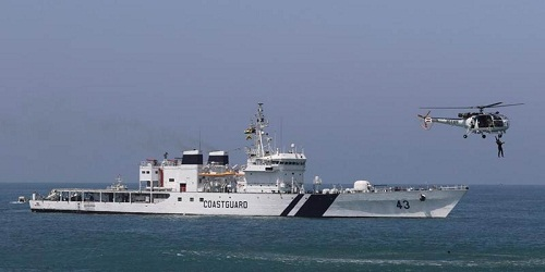 ICGS Varuna Reliance Naval launched training ship for Indian Coast Guard